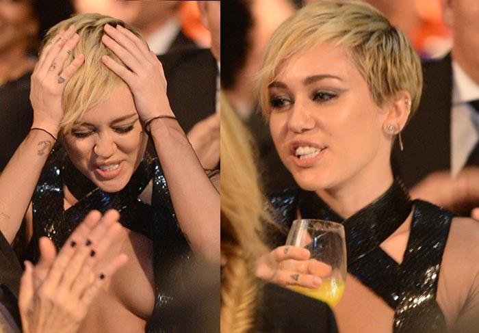 Miley Cyrus doa 1 milhão por estar bêbada