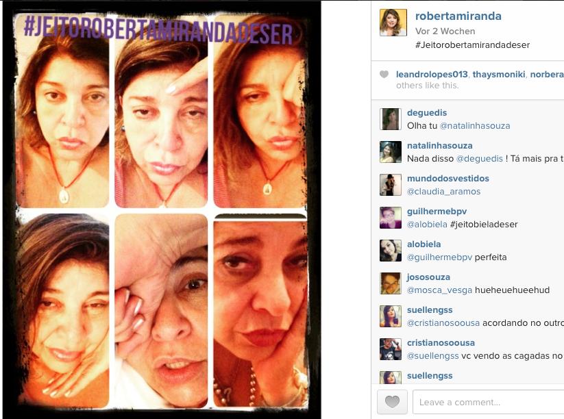 Roberta Miranda no Instagram
