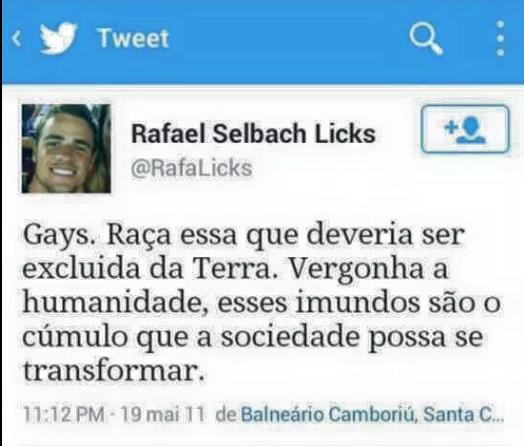 Twitter do BBB Rafael